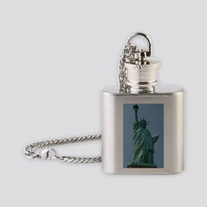 The Statue of Liberty Flask Necklace