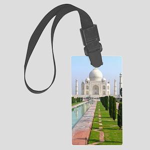 Taj Mahal Large Luggage Tag