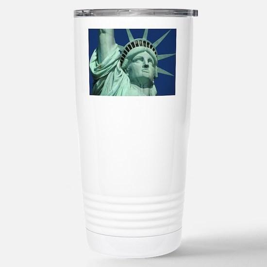 Statue of Liberty Stainless Steel Travel Mug