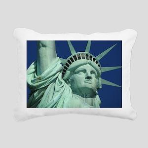 Statue of Liberty Rectangular Canvas Pillow