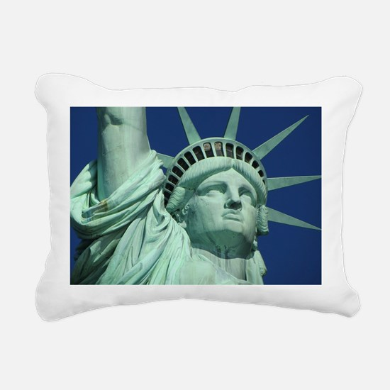 Statue of Liberty Rectangular Canvas Pillow