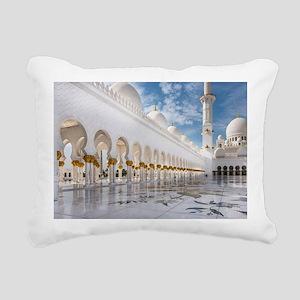 Sheikh Zayed Mosque Rectangular Canvas Pillow