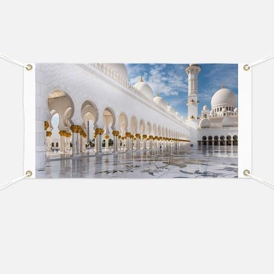 Sheikh Zayed Mosque Banner