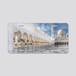 Sheikh Zayed Mosque Aluminum License Plate
