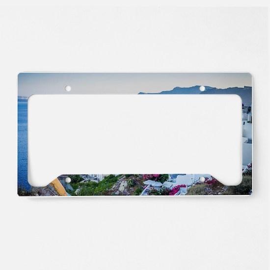 Santorini License Plate Holder