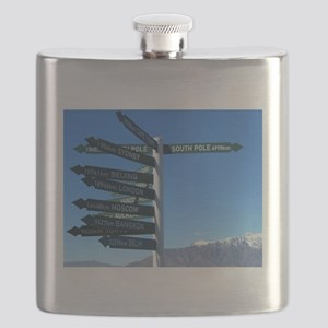 Road Signs Flask