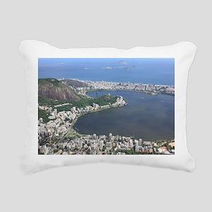 Rio de Janeiro Rectangular Canvas Pillow