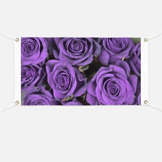 Purple Roses Banner