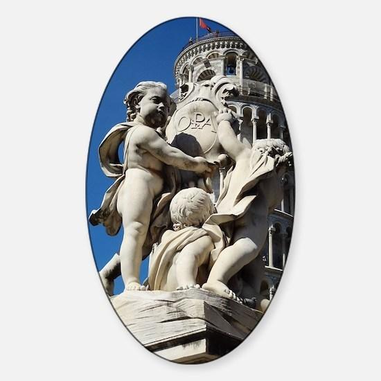 Pisa Sticker (Oval)