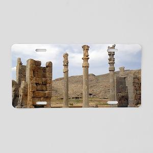 Persepolis Aluminum License Plate