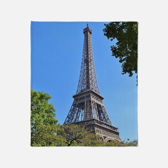 Paris 2 Throw Blanket