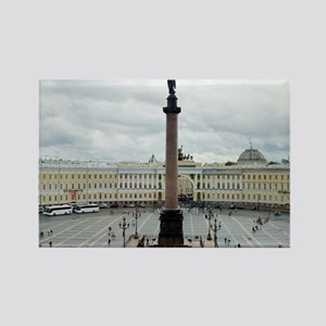 Palace Square Rectangle Magnet