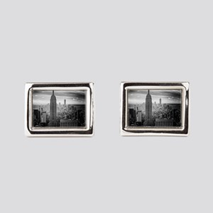 New York Rectangular Cufflinks