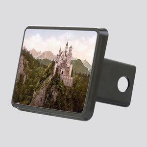 Neuschwanstein Castle Rectangular Hitch Cover