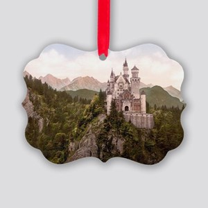 Neuschwanstein Castle Picture Ornament