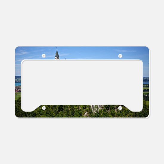 Neuschwanstein Castle License Plate Holder