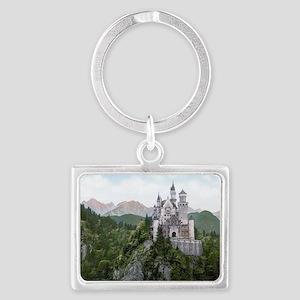 Neuschwanstein Castle Landscape Keychain
