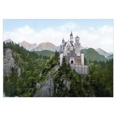 Neuschwanstein Castle Poster