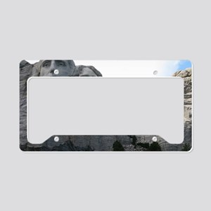 Mount Rushmore License Plate Holder