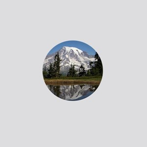 Mount Rainier Mini Button