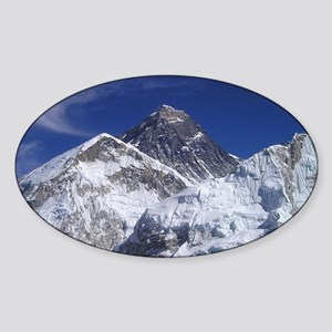 Mount Everest Sticker (Oval)