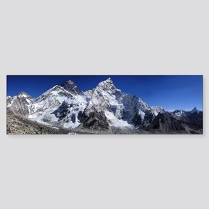 Mount Everest Sticker (Bumper)
