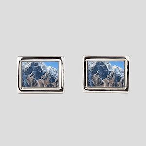 Mount Everest Rectangular Cufflinks