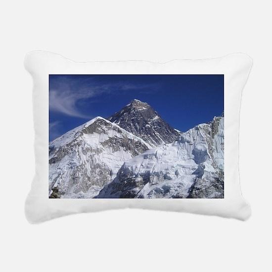 Mount Everest Rectangular Canvas Pillow