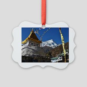 Mount Everest Picture Ornament
