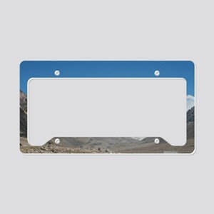 Mount Everest License Plate Holder