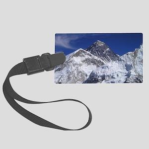 Mount Everest Large Luggage Tag