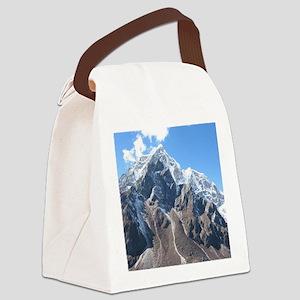 Mount Everest Canvas Lunch Bag