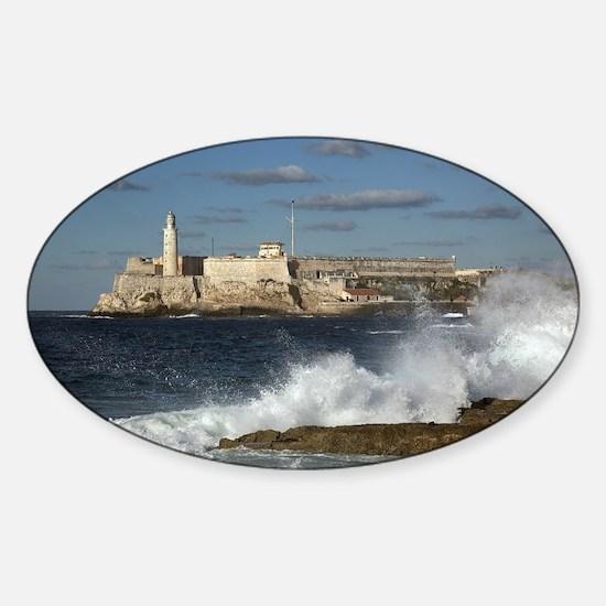Morro Castle Sticker (Oval)