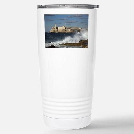 Morro Castle Stainless Steel Travel Mug