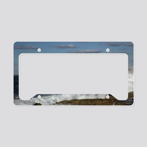 Morro Castle License Plate Holder