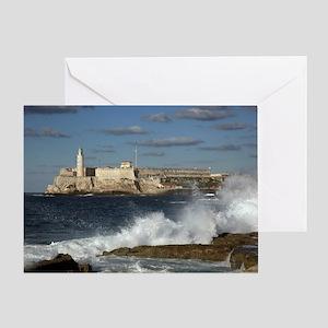 Morro Castle Greeting Card