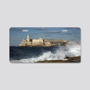 Morro Castle Aluminum License Plate
