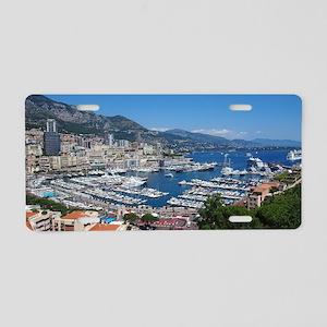 Monaco Aluminum License Plate