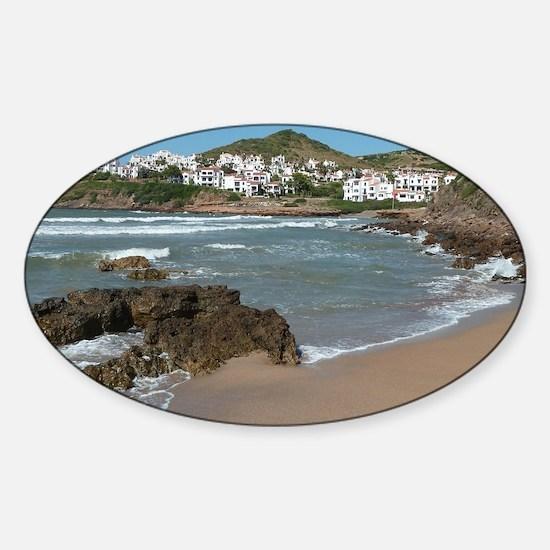 Menorca Sticker (Oval)