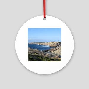 Menorca Round Ornament