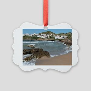 Menorca Picture Ornament