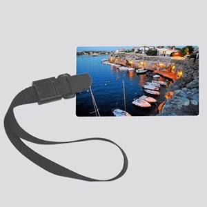 Menorca Large Luggage Tag