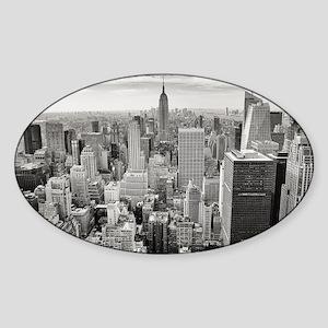 Manhattan Sticker (Oval)
