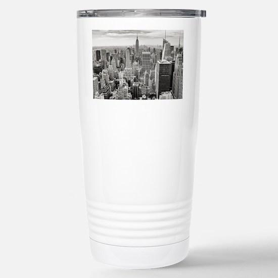 Manhattan Stainless Steel Travel Mug