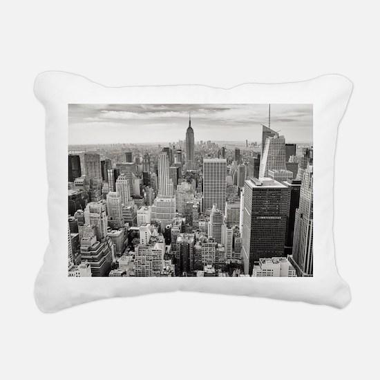 Manhattan Rectangular Canvas Pillow