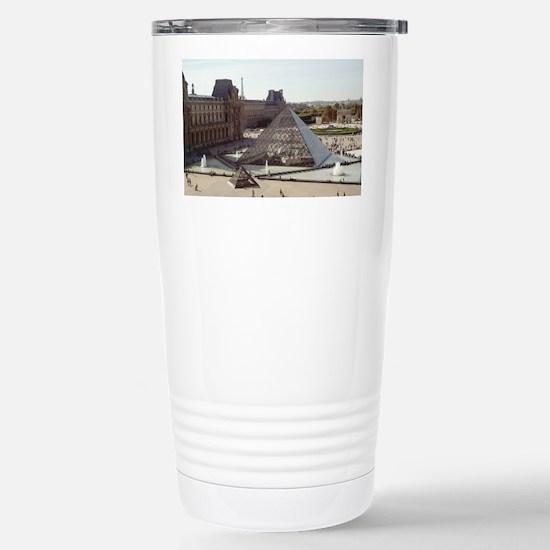 Louvre Pyramid Stainless Steel Travel Mug
