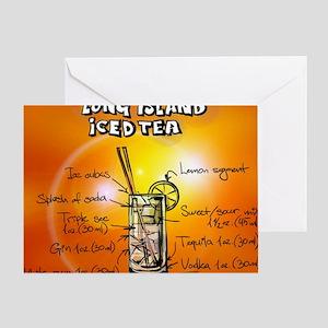 Long Island Iced Tea Greeting Card