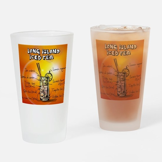 Long Island Iced Tea Drinking Glass