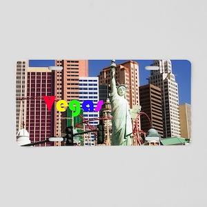 Las Vegas strip Aluminum License Plate