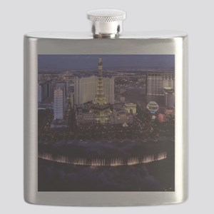 Las Vegas by Night Flask